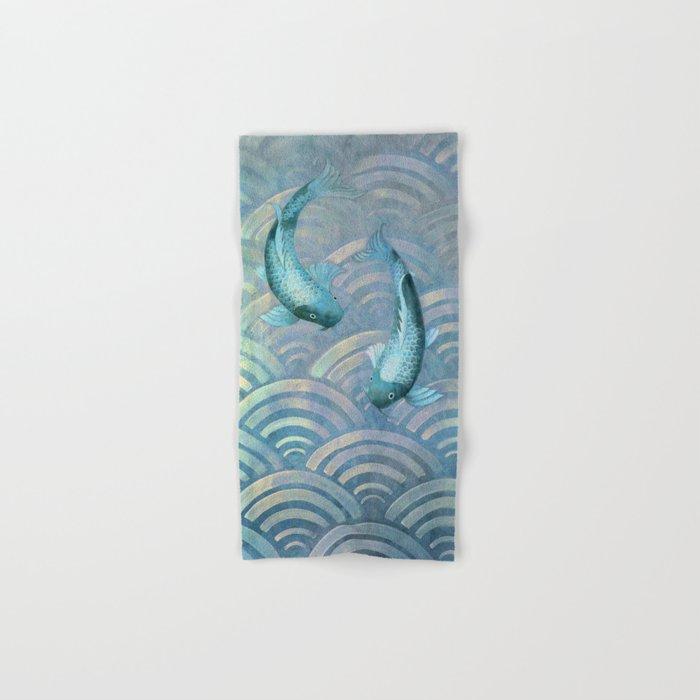 Koi fish Hand & Bath Towel
