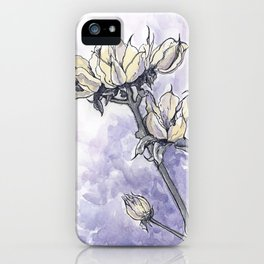 Dried Wild Flowers  iPhone Case