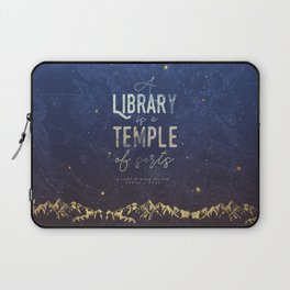 Library Temple Laptop Sleeve