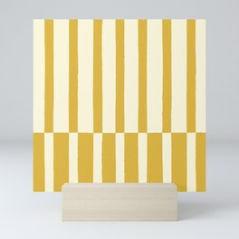 Dandelion Stripes Mini Art Print