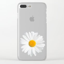 chamomile daisy Clear iPhone Case