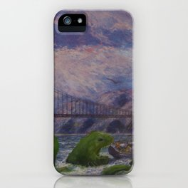 Seamonster's Lunch iPhone Case