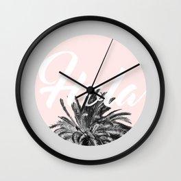 Hola! #society6 #decor #buyart Wall Clock
