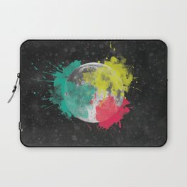 Moon + Neon Laptop Sleeve