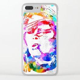 Brigitte Bardot Clear iPhone Case