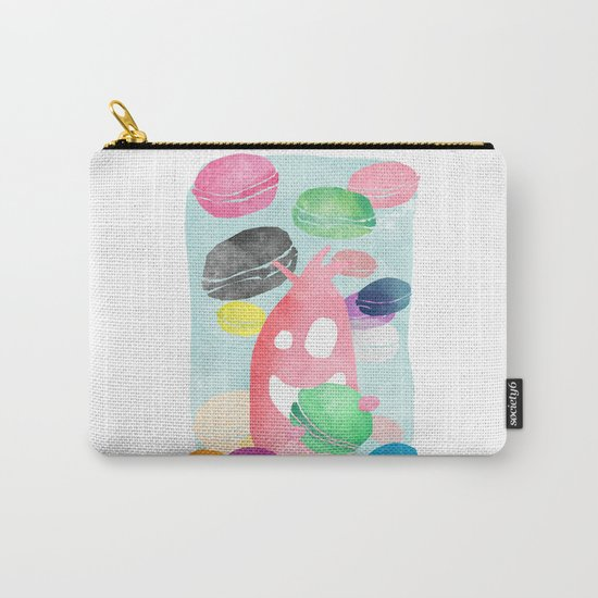 A wild creature in a macaron rain Carry-All Pouch