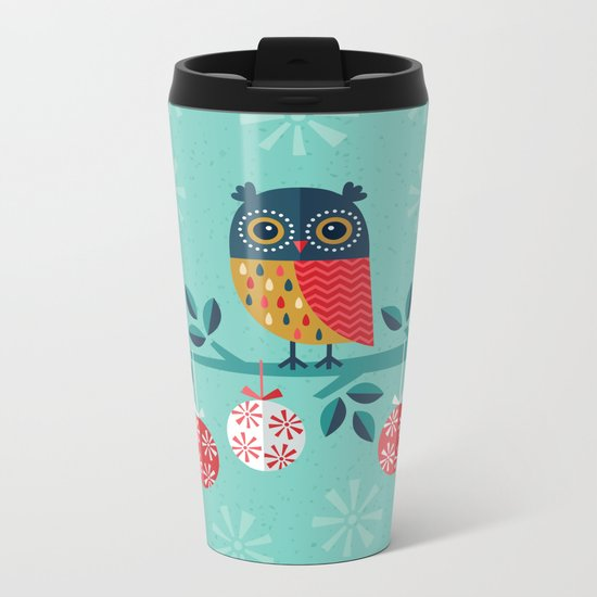 WOOHOO IT'S CHRISTMAS! Metal Travel Mug