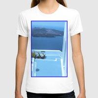 greek T-shirts featuring Greek Holiday by Brian Raggatt
