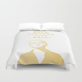Look to the Futura Duvet Cover