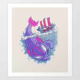 Fishing Day Art Print