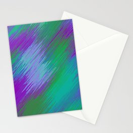 purple green and pink painting texture abstract background Stationery Cards