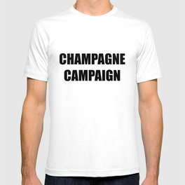 Champagne Campaign Mmm Bubbles T-shirt