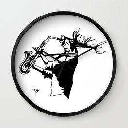 AniMusic (DEER) Wall Clock