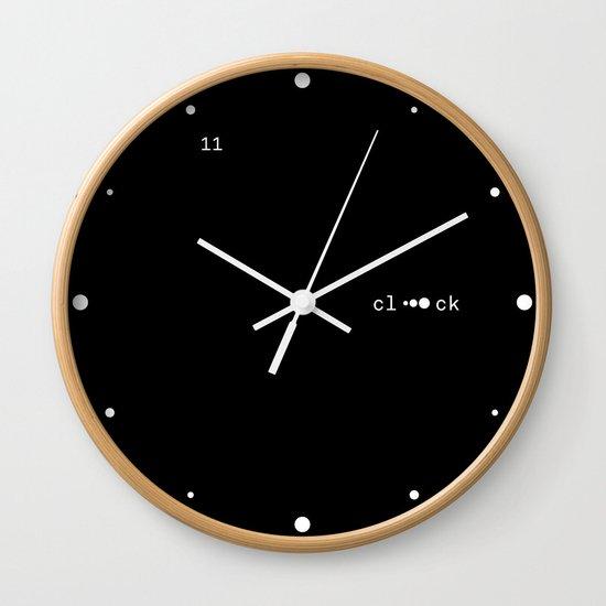 Dot clooOck Wall Clock