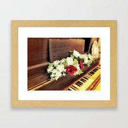 Tickle the ivory Framed Art Print