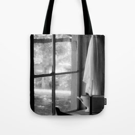 window in time Tote Bag