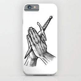 pray for your enemies iPhone Case