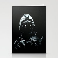bane Stationery Cards featuring Bane by Vanessa Leach