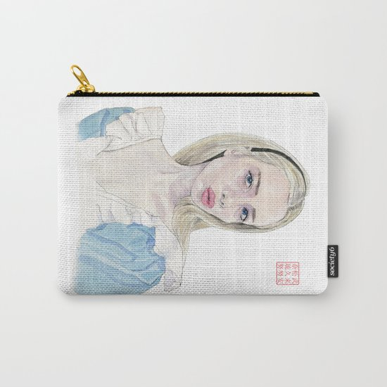 Alice in Selfie-land Carry-All Pouch