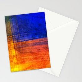 Red Blue Scratch Stationery Cards