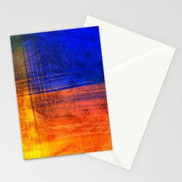 Red Blue Scratch Stationery Cards
