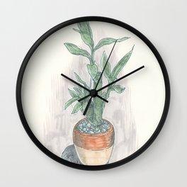 Little Bamboo Wall Clock