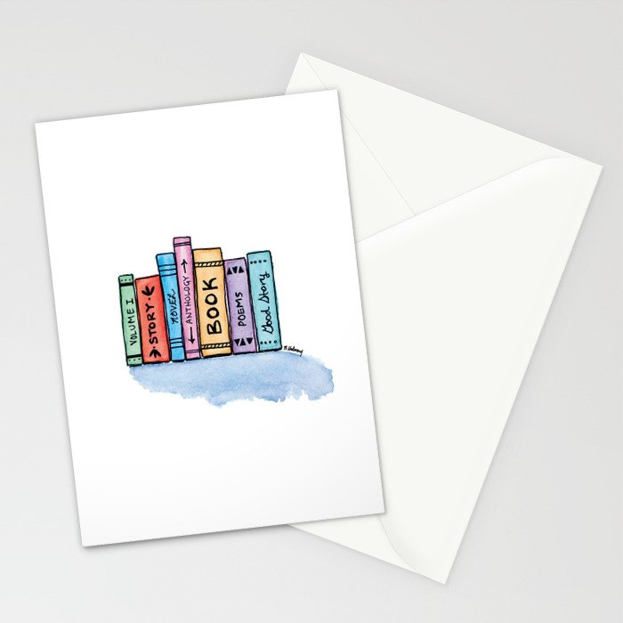 Little Library Stationery Cards
