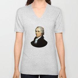 Alexander Hamilton Unisex V-Neck