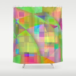 eminent spring Shower Curtain