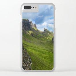 Scottish Highlands Clear iPhone Case