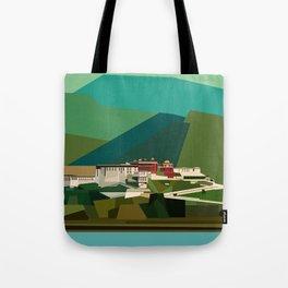 Potala Palace, Lhasa, Tibet, China Tote Bag