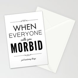 Just Taxidermy Things: Morbid Stationery Cards