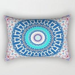 Kaleidoscope Lake Rectangular Pillow