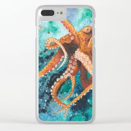 Reaching for the Stars Clear iPhone Case