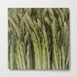 Astonishing Asparagus! Metal Print