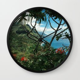 Kalalau Kauai Wall Clock