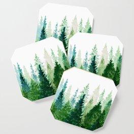 Pine Trees 2 Coaster