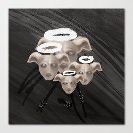 dog people Canvas Print