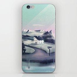 Alpine Island iPhone Skin