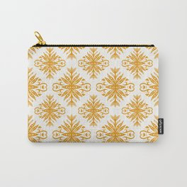 Yellow Nordic Flower Composition Carry-All Pouch