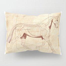 Da Vinci Horse: The Trot Revealed Pillow Sham
