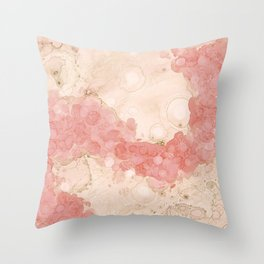 Agate In Solution Throw Pillow