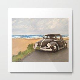 """Bugs at the Beach"" Metal Print"