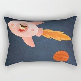 Kid Astronaut Rectangular Pillow