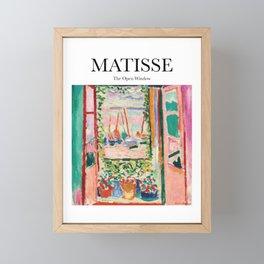 Matisse - The Open Window Framed Mini Art Print