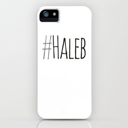 #haleb iPhone Case