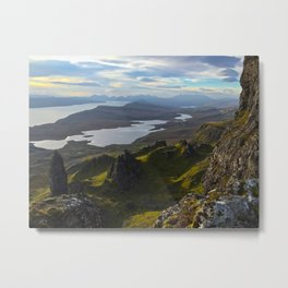 Storr Sunrise Metal Print