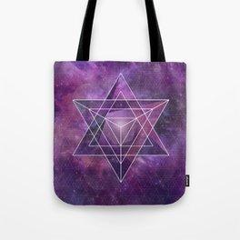 Metatron's Merkaba  Tote Bag