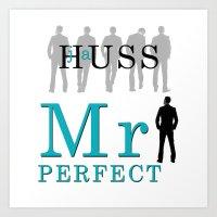 Mister Perfect by JA Huss Art Print