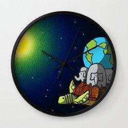 New Turtle Theory Wall Clock